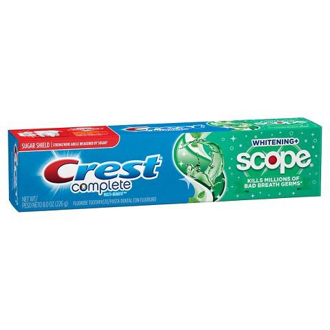 Паста за зъби Crest Complete Whitening Plus Scope