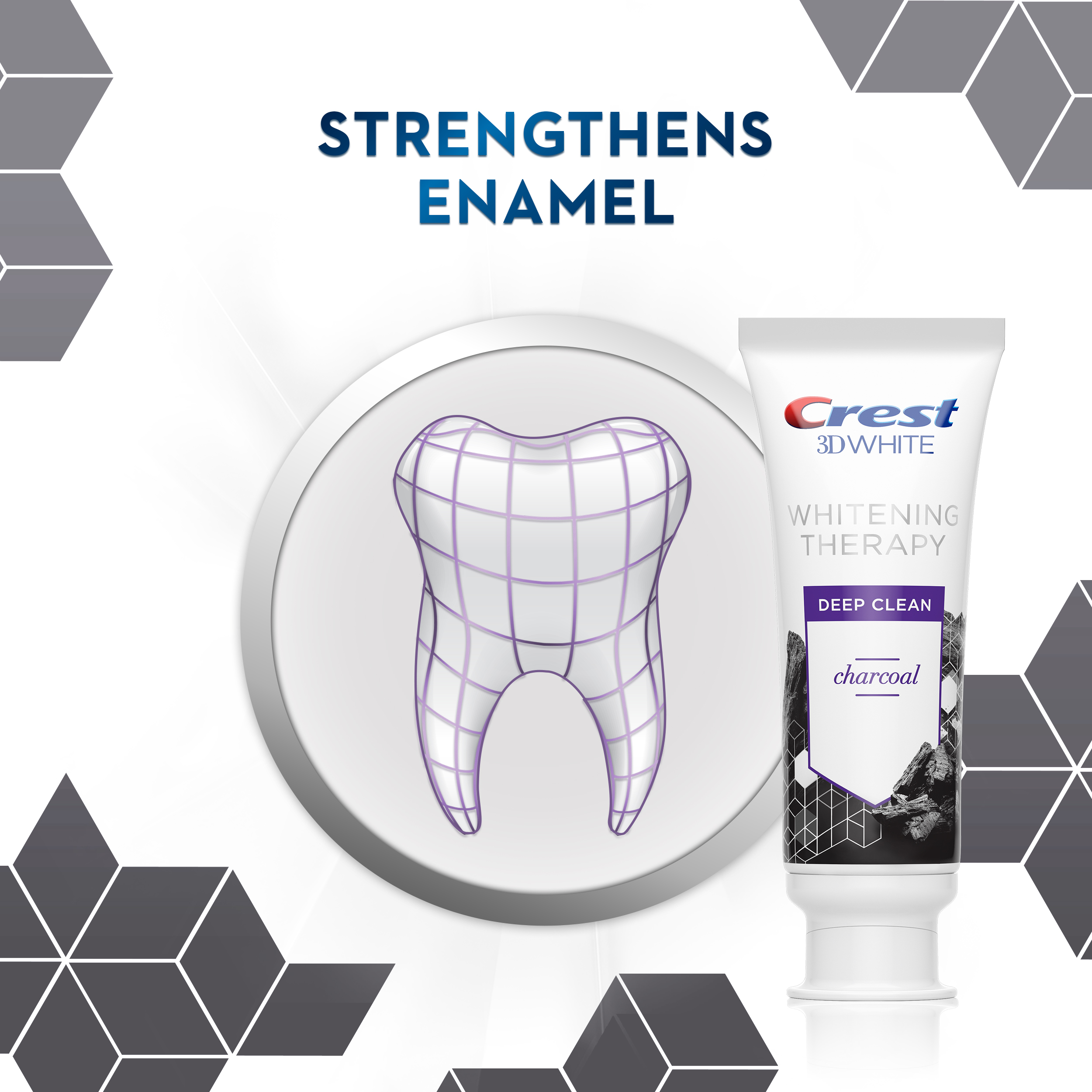 Crest 3D White Whitening Therapy Toothpaste – Charcoal 2