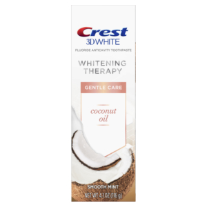 Crest 3D White Whitening Therapy Toothpaste - Coconut Oil
