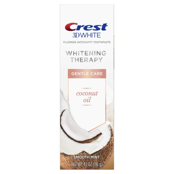 Crest 3D White Whitening Therapy Toothpaste – Coconut Oil