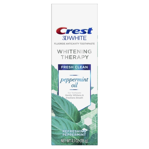 Crest 3D White Whitening Therapy Toothpaste – Peppermint Oil 2