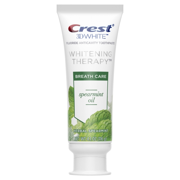Crest 3D White Whitening Therapy Toothpaste – Spearmint Oil 2