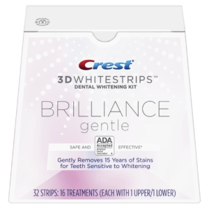 Crest  3D Whitestrips Brilliance Gentle Whitenig Kit